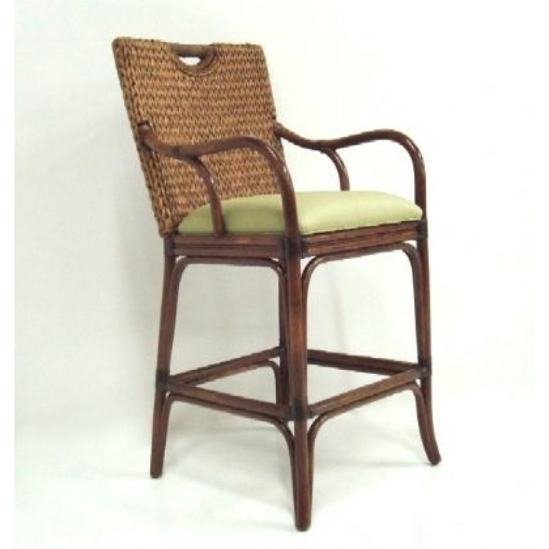 Peachy Classic Rattan Callaway 24 Bar Stool Gmtry Best Dining Table And Chair Ideas Images Gmtryco