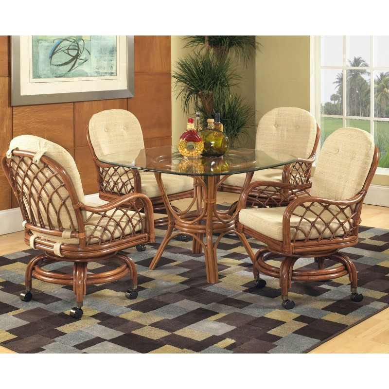 Prime Classic Rattan Grand Isle Caster Dining Set Theyellowbook Wood Chair Design Ideas Theyellowbookinfo