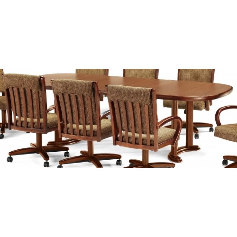 Chromcraft T224 75 Square Round Laminate Dining Table