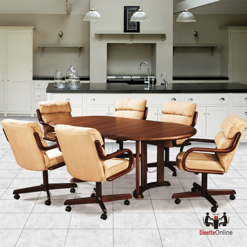 Douglas Casual Living Ashley 5 PC Caster Dining Set