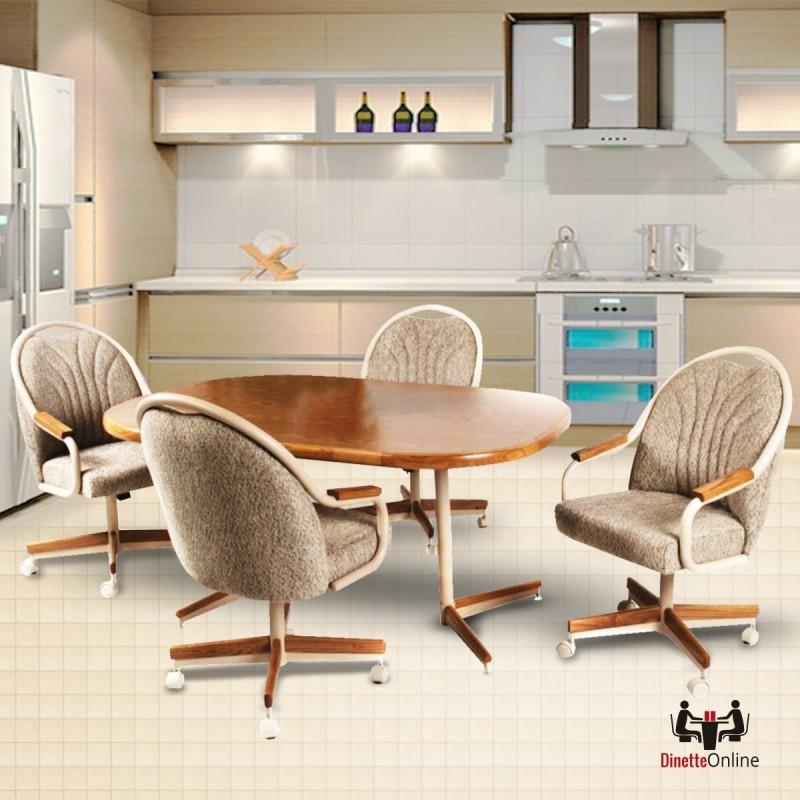 Casual Dinette Sets: Douglas Casual Living Gina Caster Dining Set