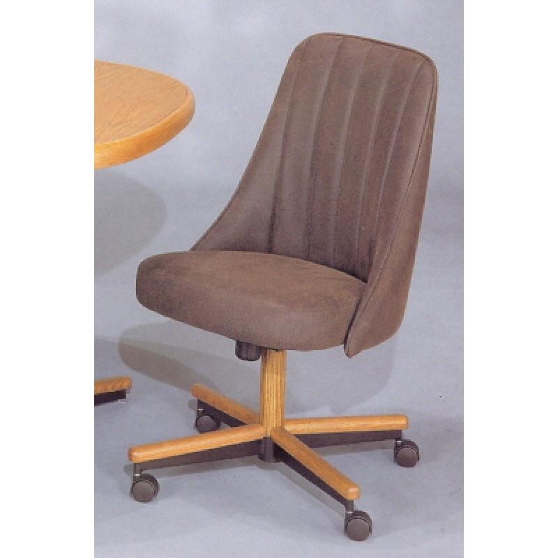 Chromcraft C51 856 Swivel Tilt Caster Arm Chair Dinette