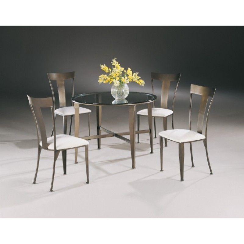 Outstanding Johnston Casuals Tribecca Contemporary 43Gl Glass Top Dining Set Table 4735 4 Tribecca Chairs 4711 Alphanode Cool Chair Designs And Ideas Alphanodeonline