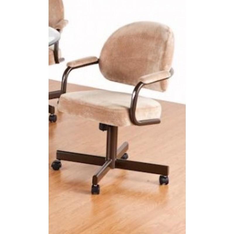 Tempo Like Dayton Swivel Tilt Caster Daytona Dinette Chair by Callee