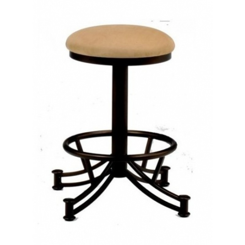 Tempo Like Sonora 34 Seattle Swivel Backless Bar Stool By