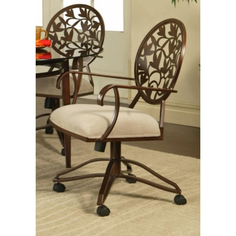Pastel Furniture Brownsville BR-160 Swivel Tilt Caster Dinette Chair