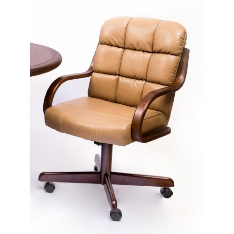 Douglas Furniture: Douglas Furniture Joan Swivel Tilt Caster Arm Chair With