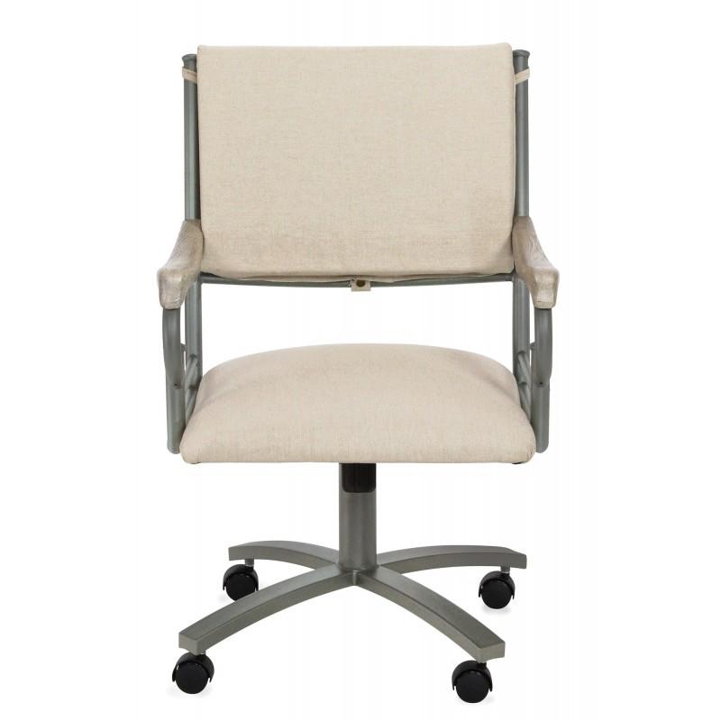Stupendous Chromcraft Metalcraft Gd Swivel Roller Rocker Dining Chair Machost Co Dining Chair Design Ideas Machostcouk