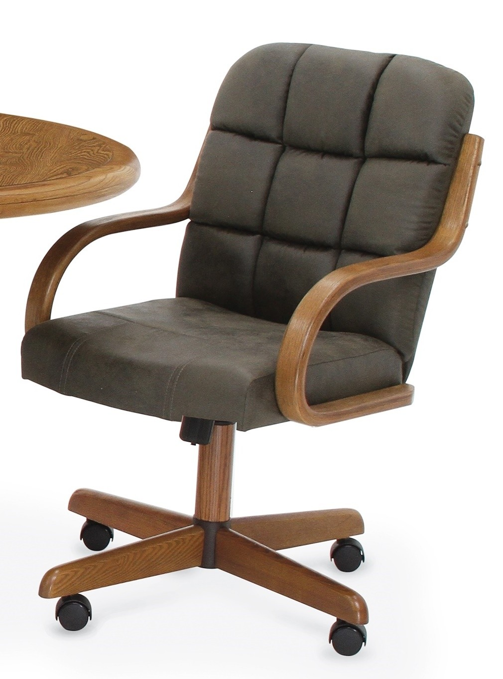 Douglas Furniture Meghan Swivel Rocker Roller Chair