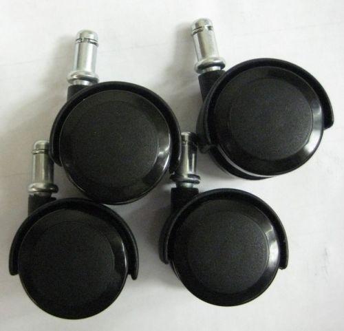 Chromcraft Soft Tread Casters Set Of 4 For Woodlaminate Floors