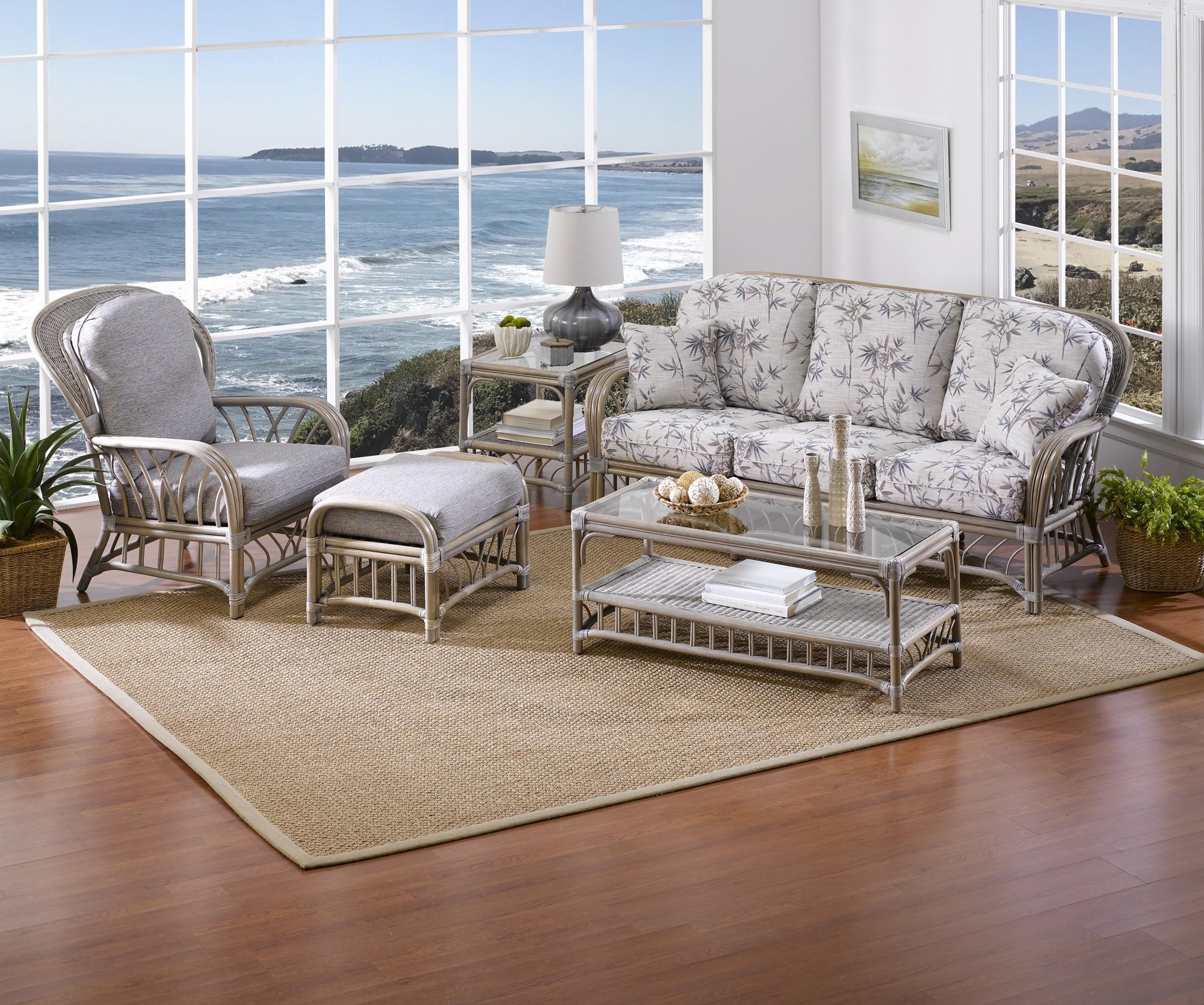 Classic Rattan Oceanview 5PC Living Room Set