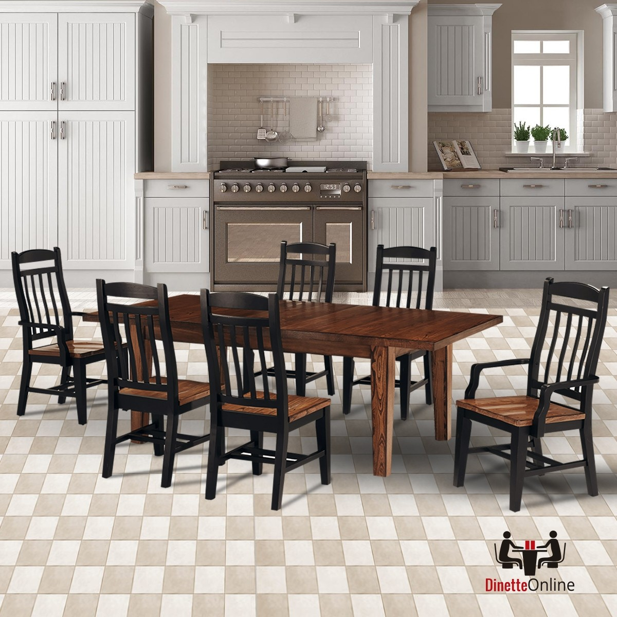 Dining Sets Online: Cochrane Riverside 7PC Dining Set
