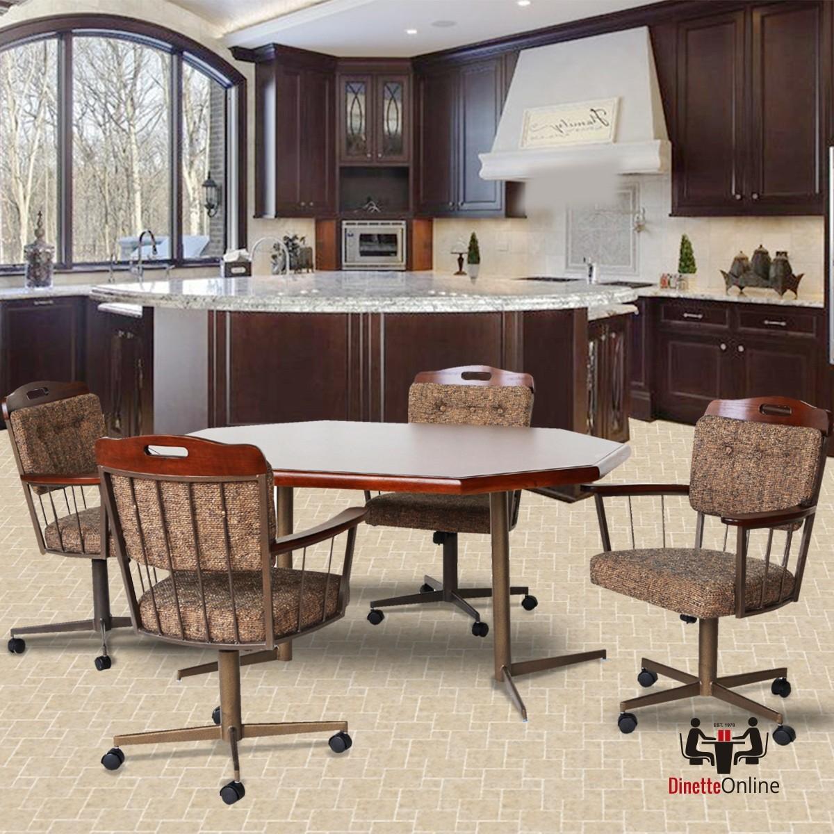 Douglas Casual Living : Douglas Casual Living Sharon Caster Dining Set - Dinette ...