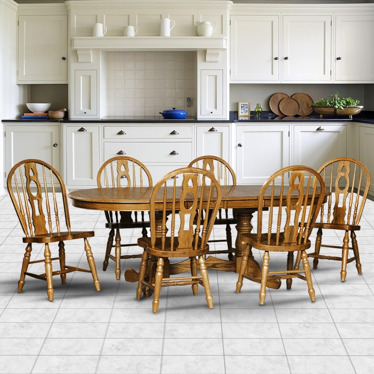 Cochrane Monarch Classic Thresher Oak Dining Set
