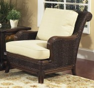 Classic Rattan Windsor Lounge Chair