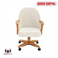 Chromcraft Quick Ship C127-936 Swivel Tilt Caster Chairs
