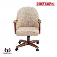 Chromcraft Quick Ship C127-936 Swivel Tilt Roller Chairs