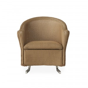 Lloyd Flanders Reflections Spring Rocker with Padded Seat