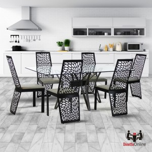 Johnston Casuals Carmine & Transformer Table Connector Dining Set