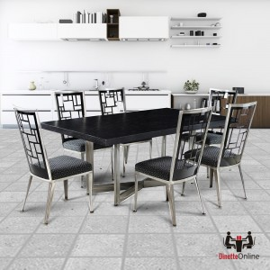 Johnston Casuals Luca Mondrian & Xander Dining Set