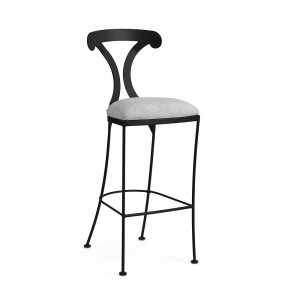 "Johnston Casuals Lido contemporary 26"" counter height bar stool, 1719-26"