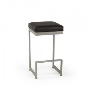 """Johnston Casuals 4 Score Contemporary 30"""" Backless Barstool, 2018-30"""