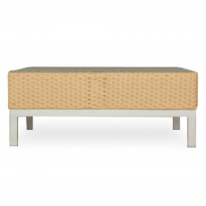 """Lloyd Flanders Elements 30"""" Square End Table"""