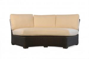Lloyd Flanders Mesa  Curved Sofa  Sectional