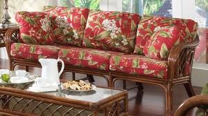 Classic Rattan Grand Isle Sofa