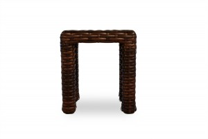 """Lloyd Flanders Contempo 16"""" Square Stool/End Table"""