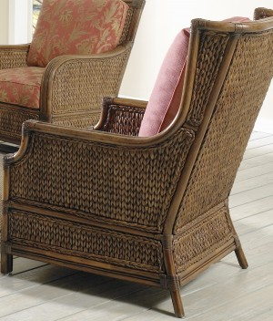 Classic Rattan Callaway Hi Back Lounge Chair