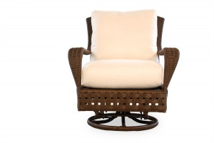 Lloyd Flanders Haven Swivel Glider Lounge Chair