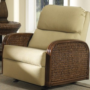 Classic Rattan Callaway Rocker Recliner Chair