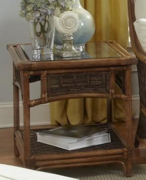 Classic Rattan Raffles End Table