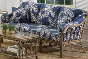 Classic Rattan Bimini Bay Sofa