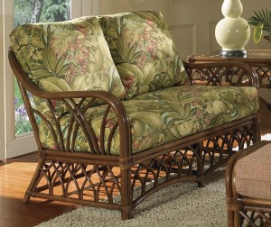 Classic Rattan Orchard Park Loveseat