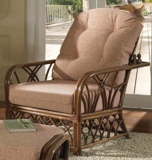 Classic Rattan Orchard Park Morris Chair