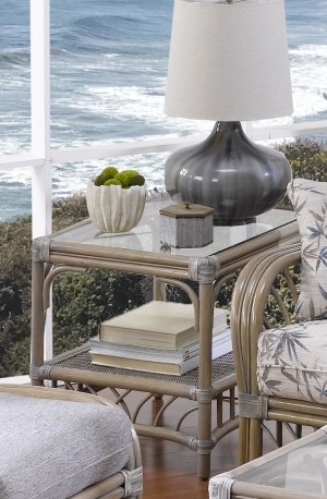 Classic Rattan Oceanview End Table