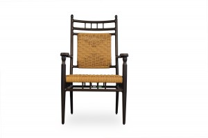 Lloyd Flanders Low Country Dining Arm Chair