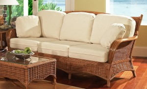 Classic Rattan Bodega Bay Sofa