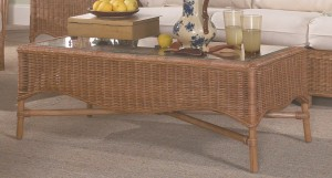 Classic Rattan Bodega Bay Coffee Table
