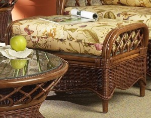 Classic Rattan Eastwind Ottoman