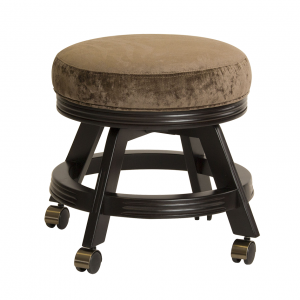 Darafeev 938 Backless Vanity Stool with Casters
