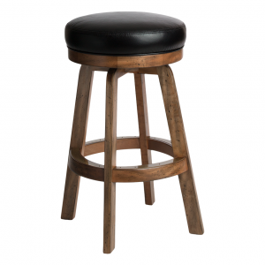 "Darafeev 965 Bartender Swivel 26"" Backless Bar Stool"