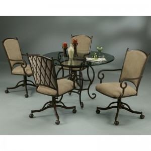 Pastel Atrium Caster 5PC Dinette Set AT 160