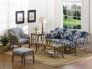 Classic Rattan Bimini 5PC Living Room Set