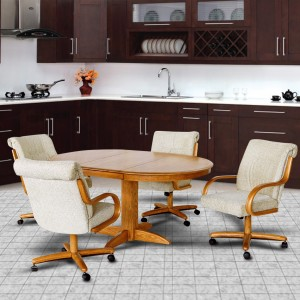 Chromcraft C179-946 and T250-607 Table Dinette Set
