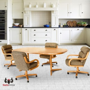 Chromcraft C137-936 and T324-456 Table Dinette Set