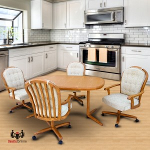 Chromcraft C183-946 and T324-466 Table Dinette Set
