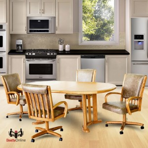 Chromcraft C177-936 and T717-77 Table  Dinette Set